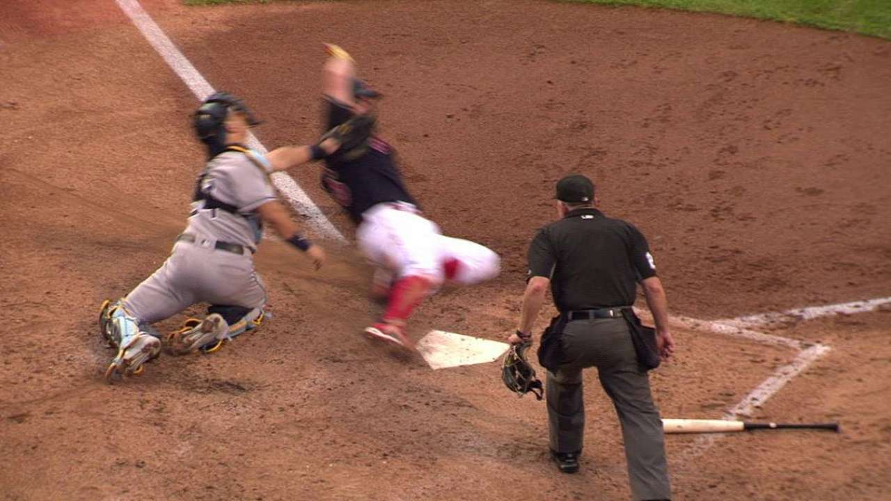 Motter throws out Napoli at home