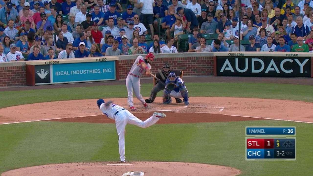 Carpenter's long solo home run