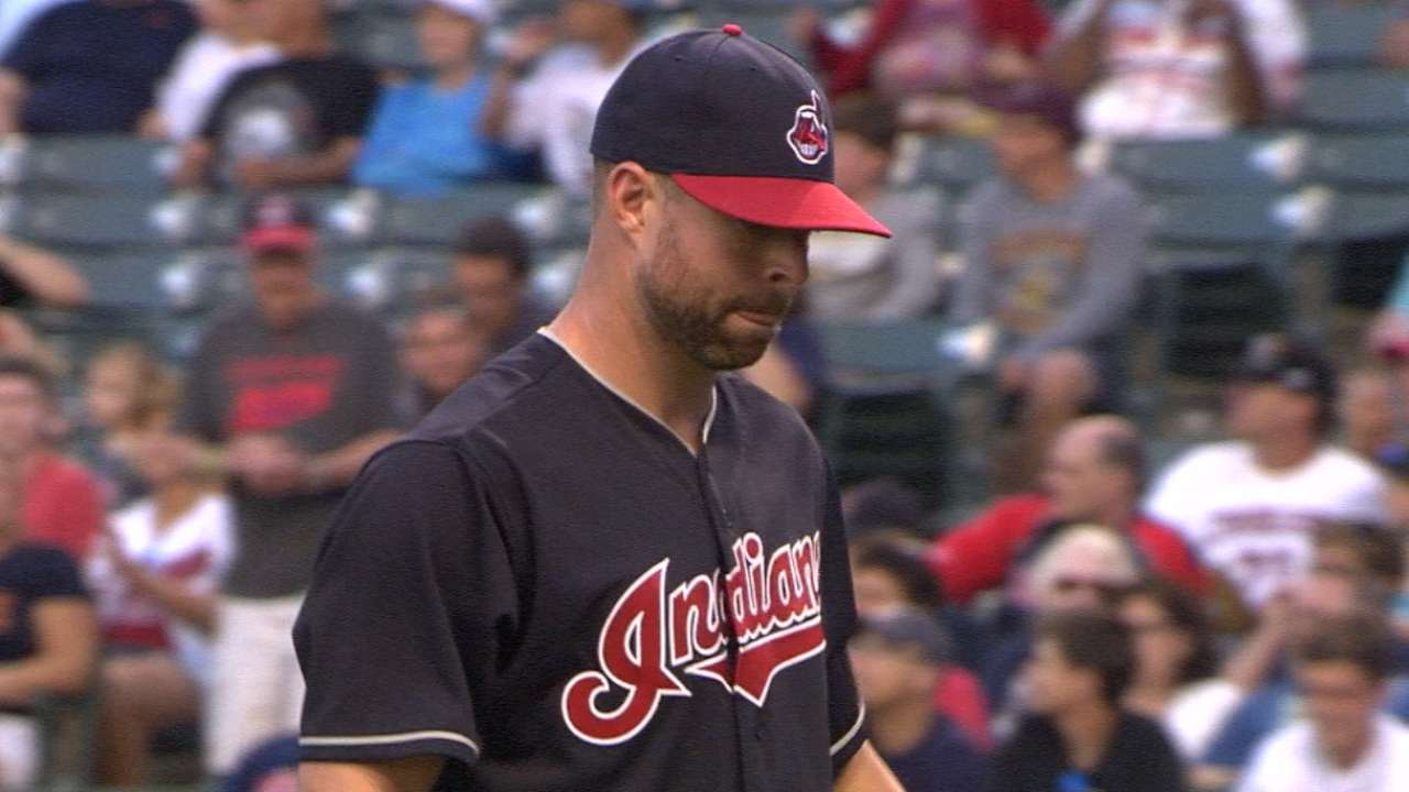 Kluber demonstrates ace status with shutout