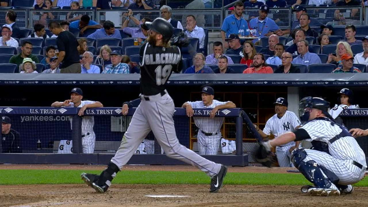 Sizzling stretch nets Blackmon Player of Week nod