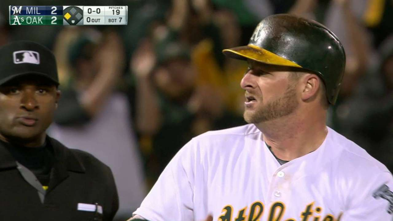 Vogt's triple to center