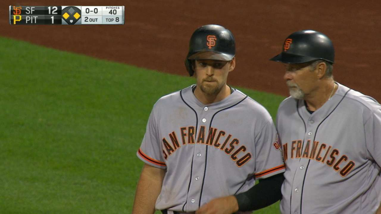Gillaspie's four-hit game