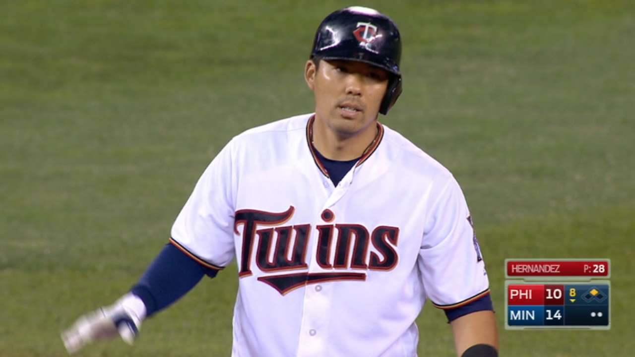 Suzuki's six-RBI game
