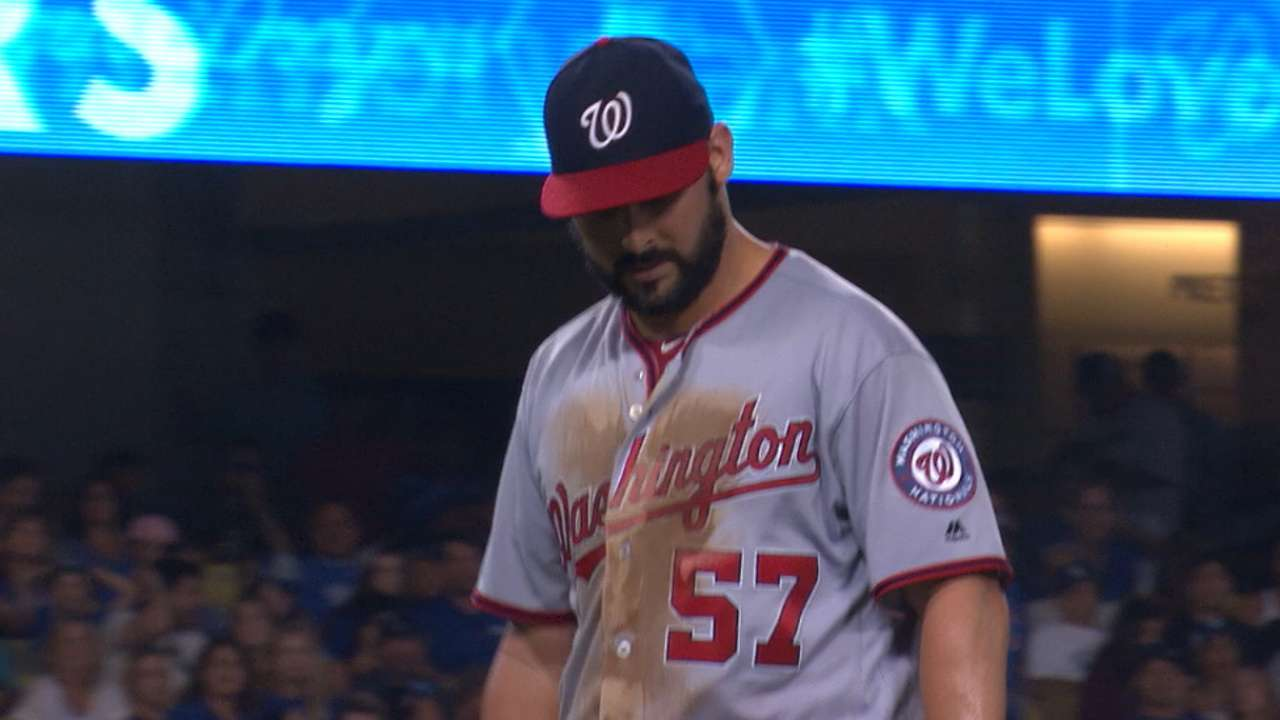 Roark tips hat after strong start goes south