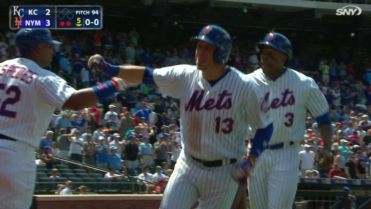 Mets use clutch HRs to back Thor, edge KC