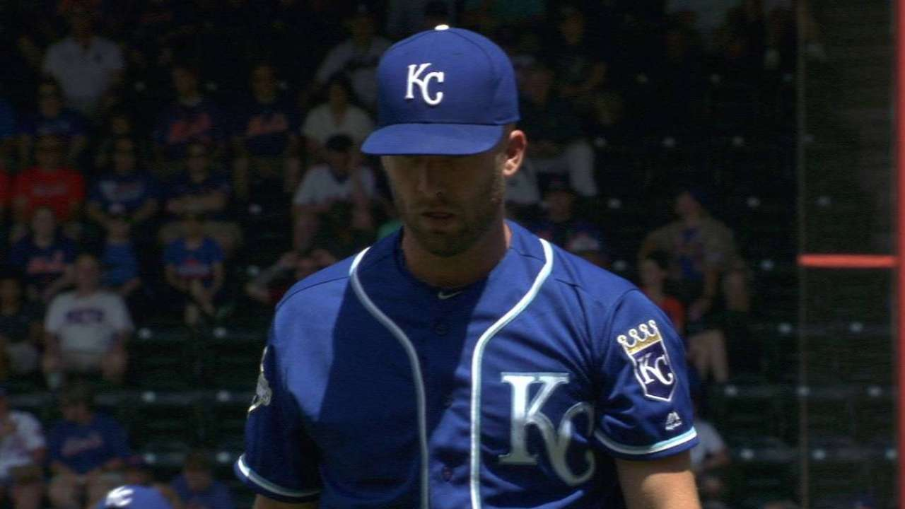 Duffy laments fastball that results in homer