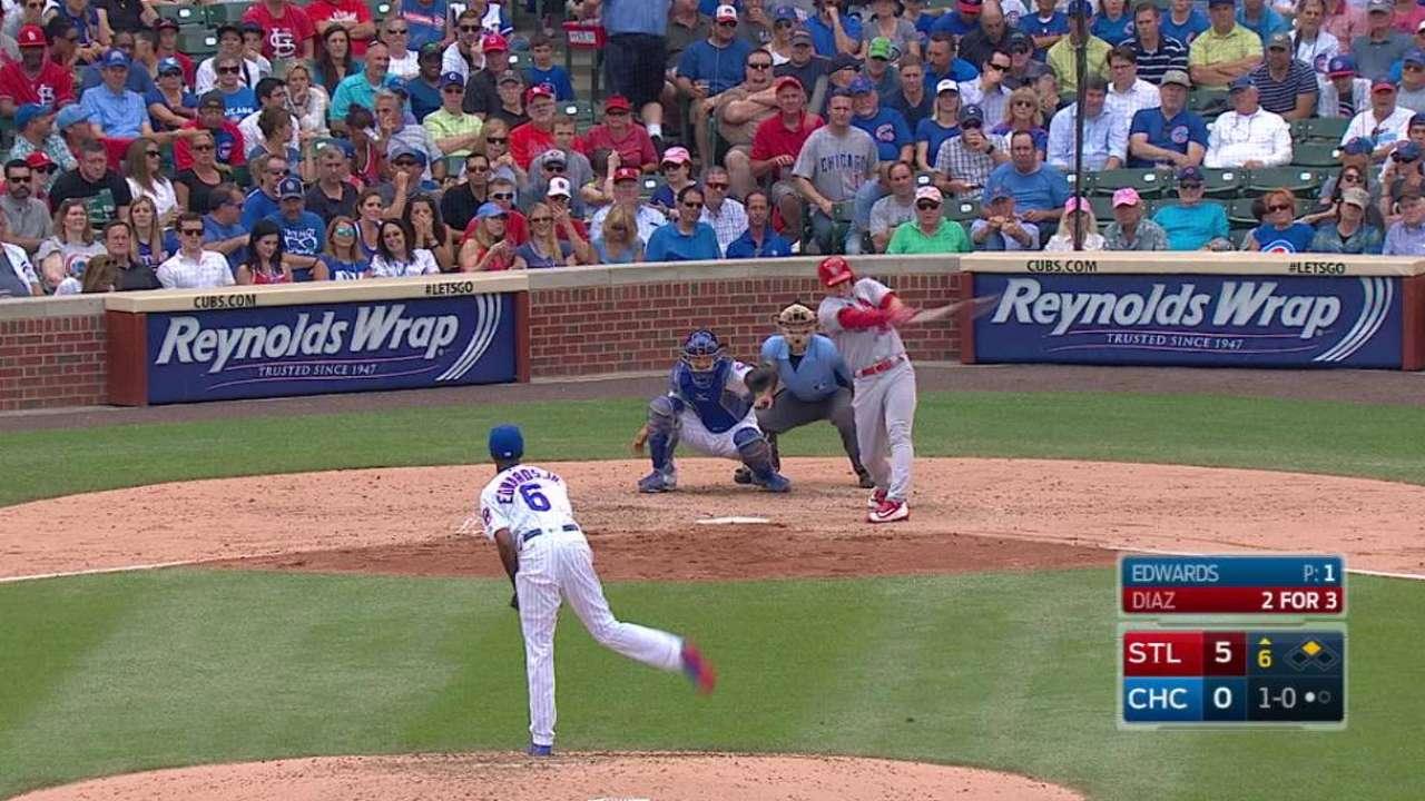 Diaz's two-run homer