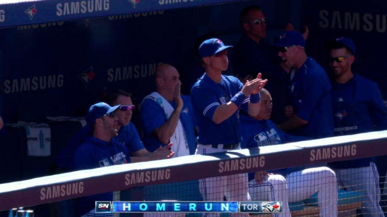 Martin's three-run home run