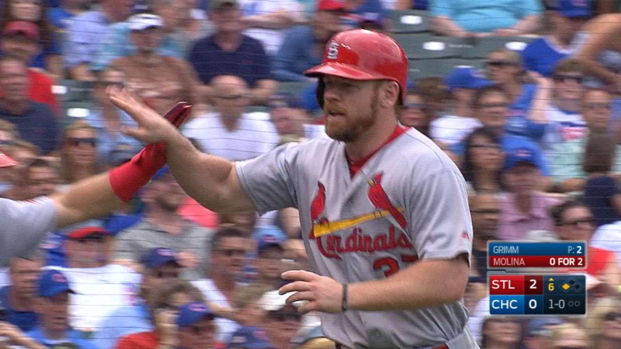 Cardinals' five-run 6th