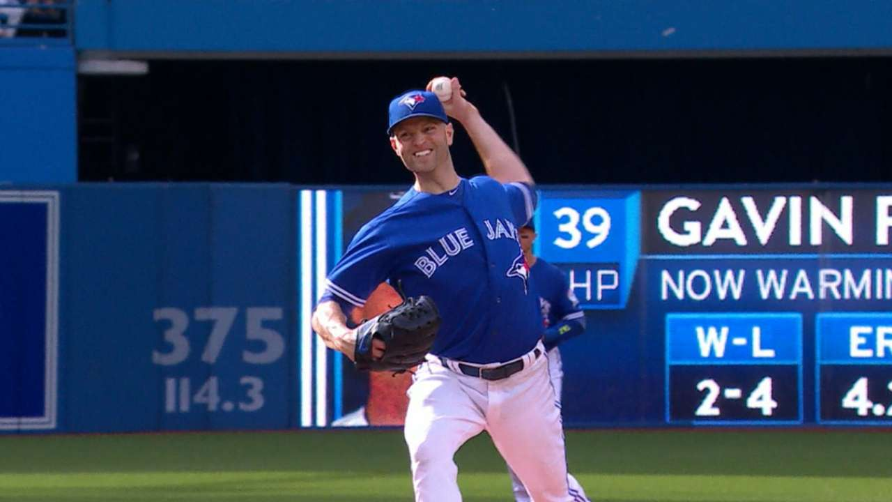 Happ, Butler square off in Jays-Rox series