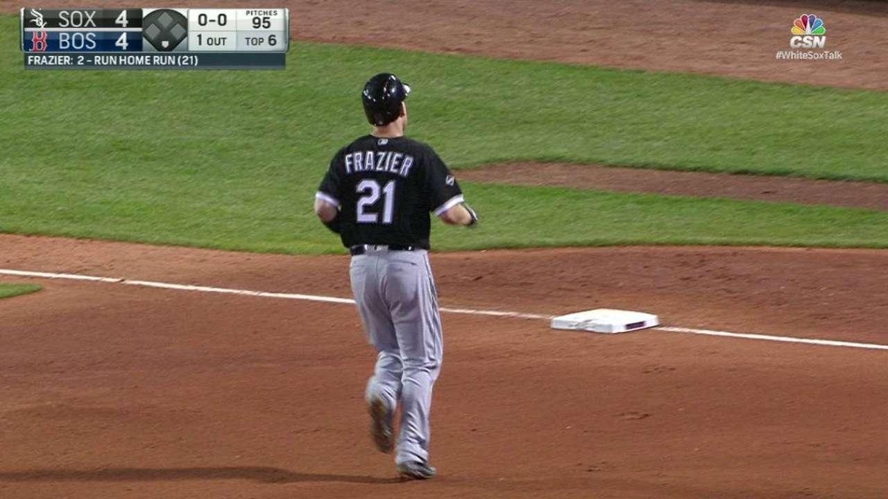 Frazier's 21st homer of '16