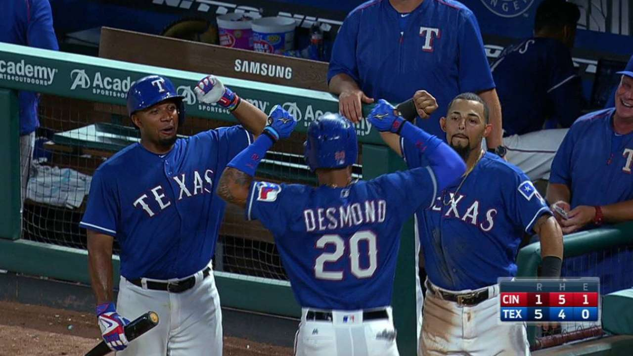 #ASGWorthy: Desmond's bounceback key to Rangers' success