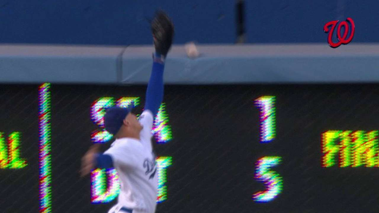 Espinosa's RBI double reviewed