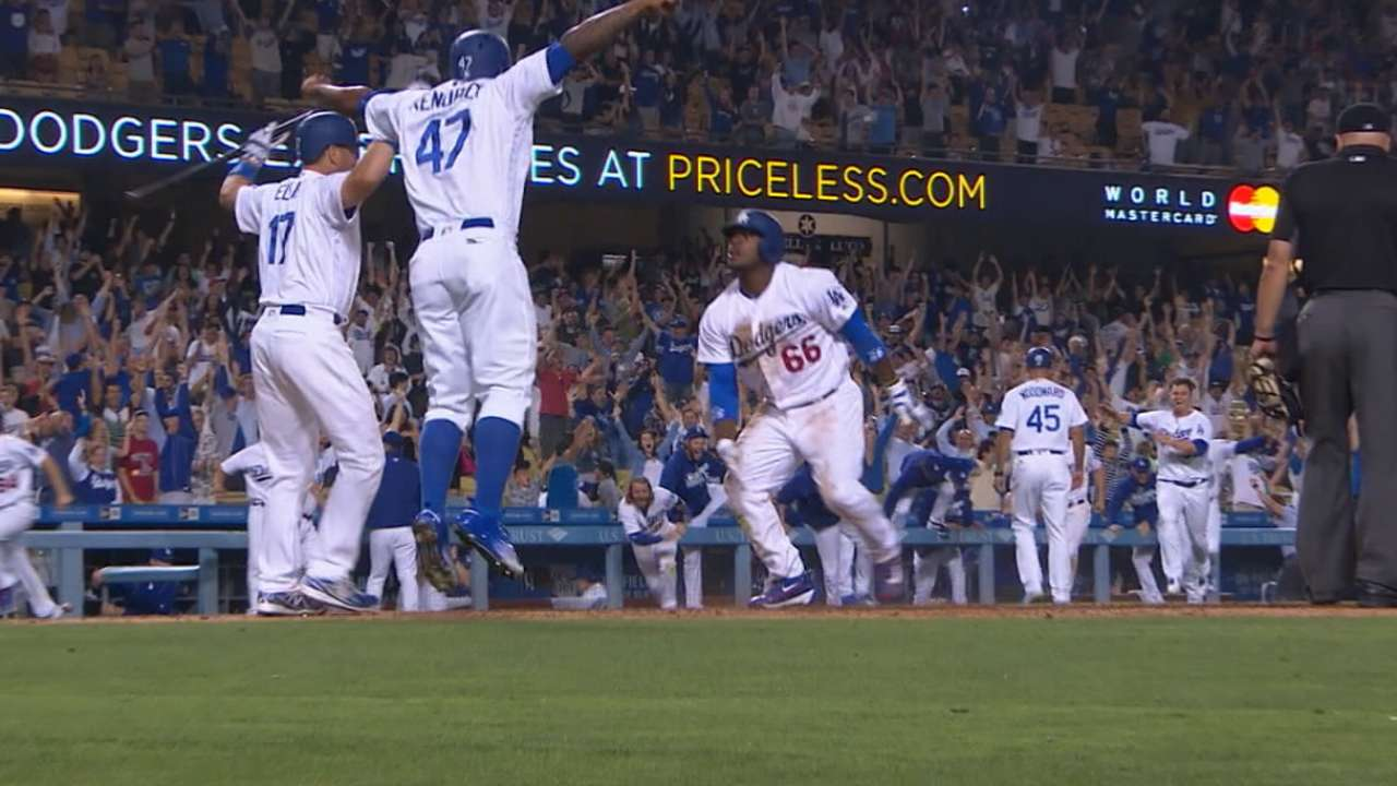 Puig, Dodgers' amazing walk-off
