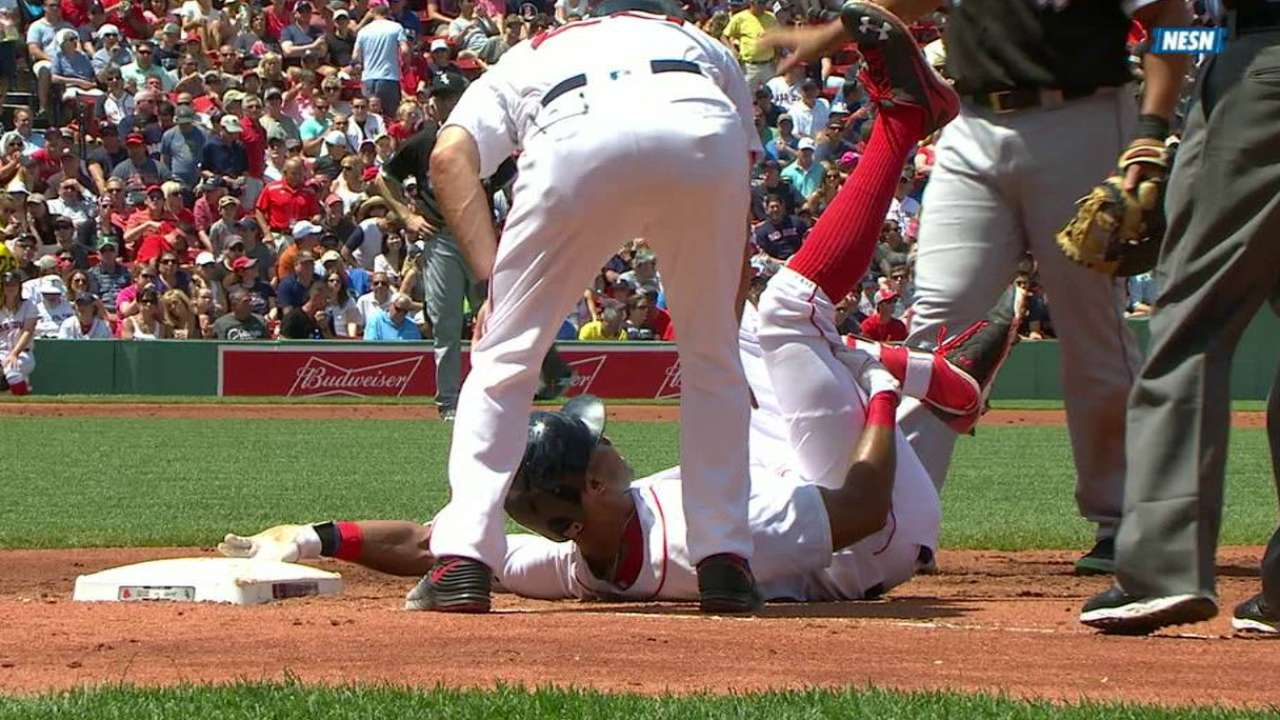 Young lands on DL with right hamstring strain