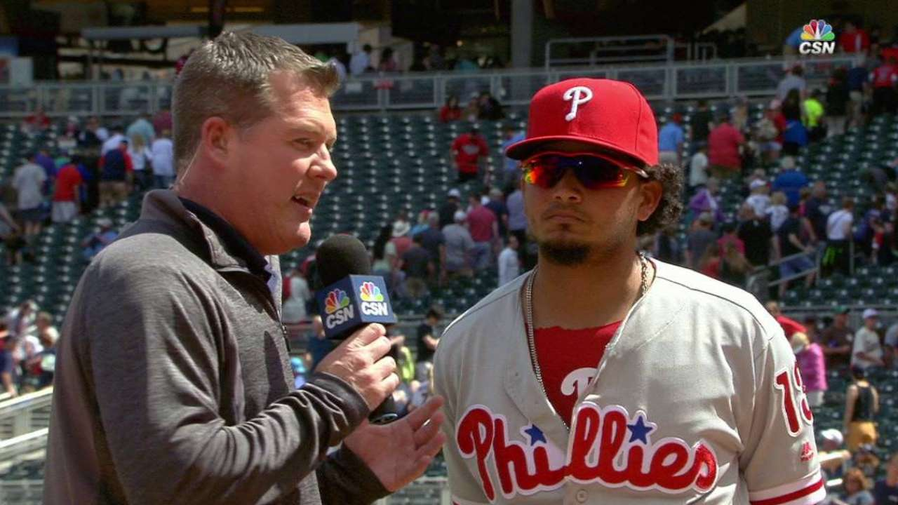 Galvis on big day at the plate