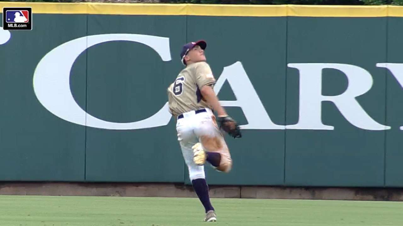 TOS: Siani's two great catches