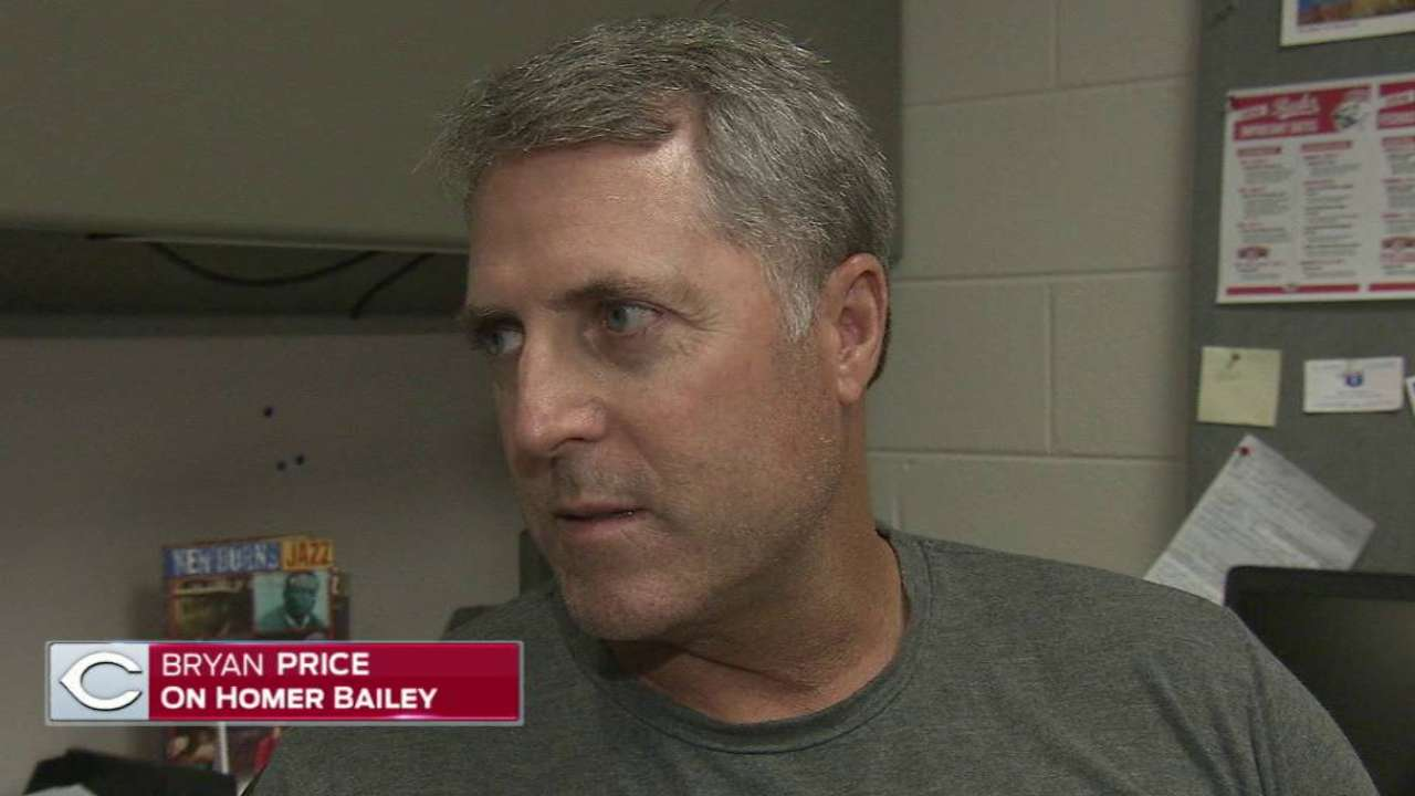 Reds set to send Bailey on rehab assignment