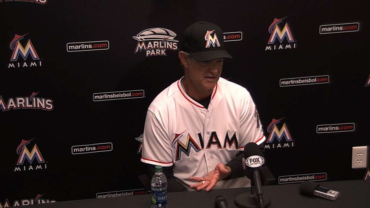Mattingly on the 4-2 victory