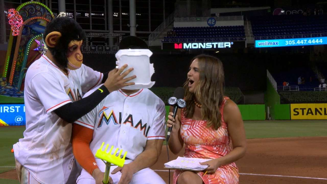 Stanton on the Marlins' 4-2 win