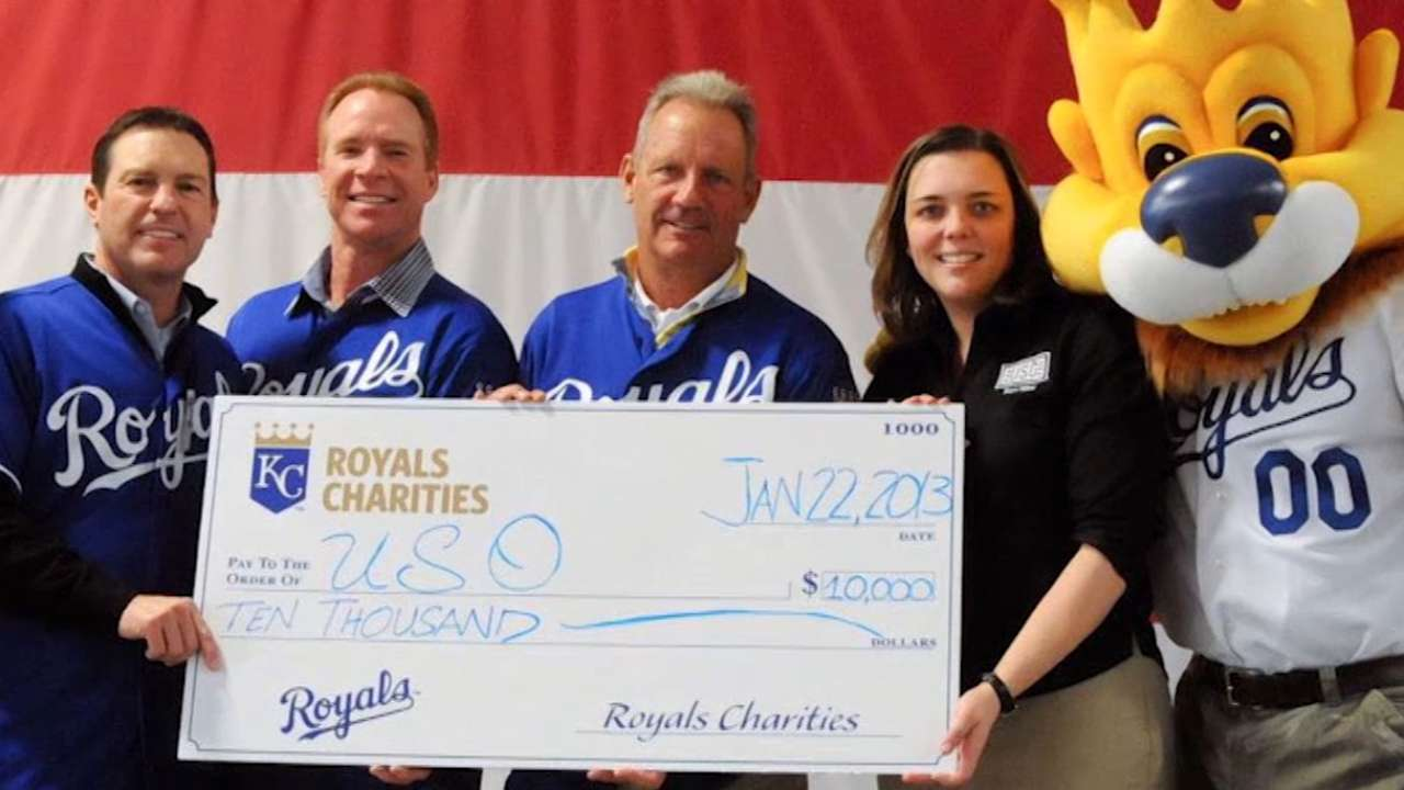 Royals Charities all about giving year-round