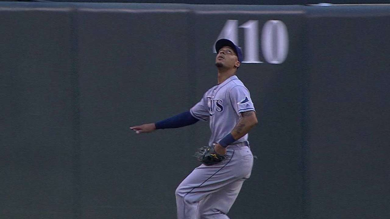 Jennings' nice leaping grab