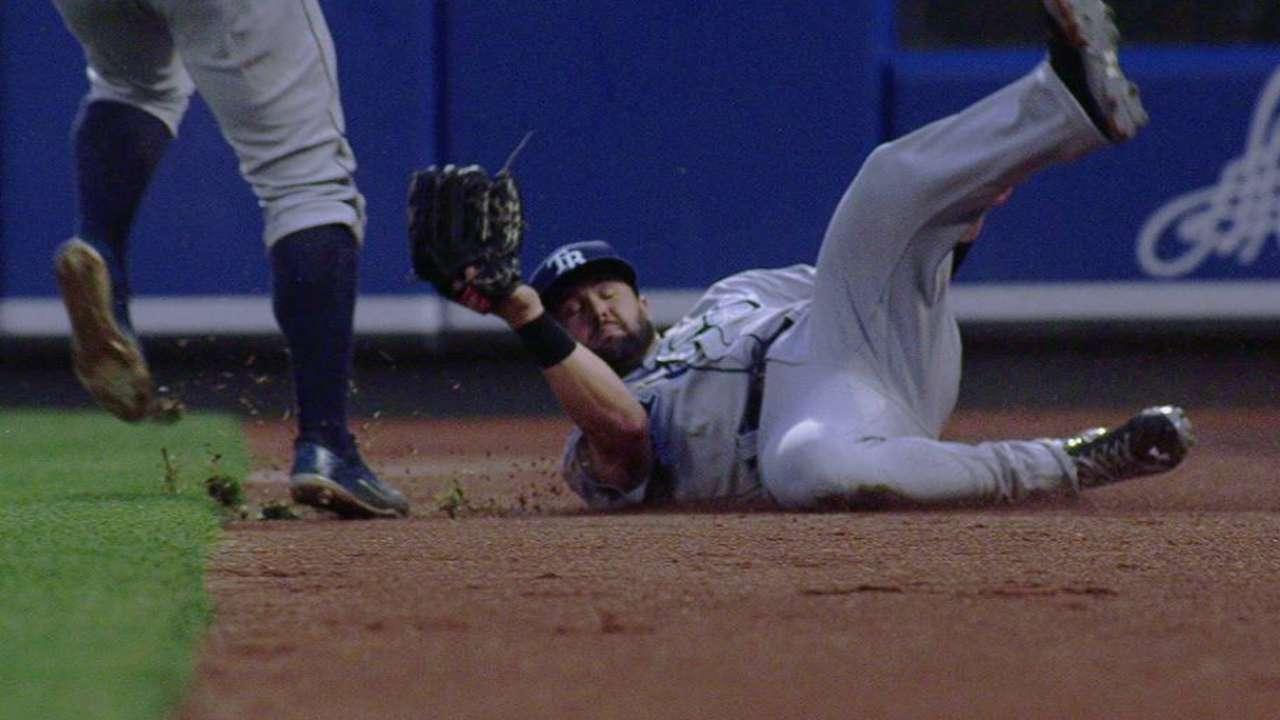 Decker's sliding catch
