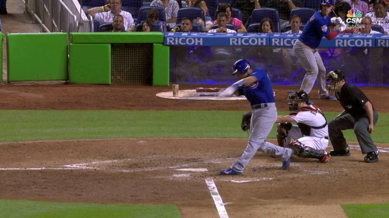 Contreras, Bryant halt Cubs' 4-game skid