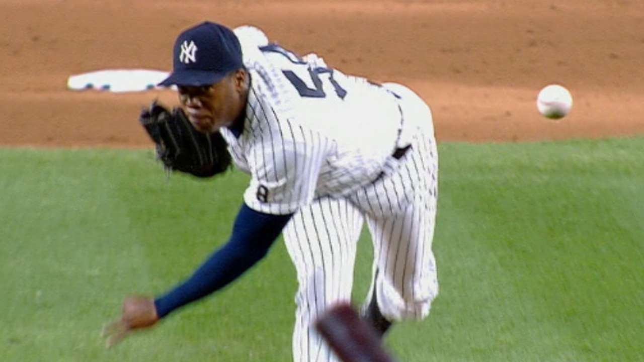 Chapman records the save