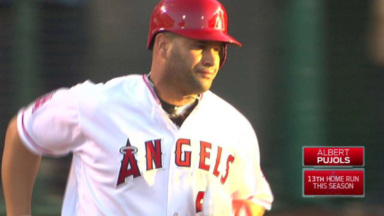 Pujols' 573rd HR ties Killebrew at 11th all-time