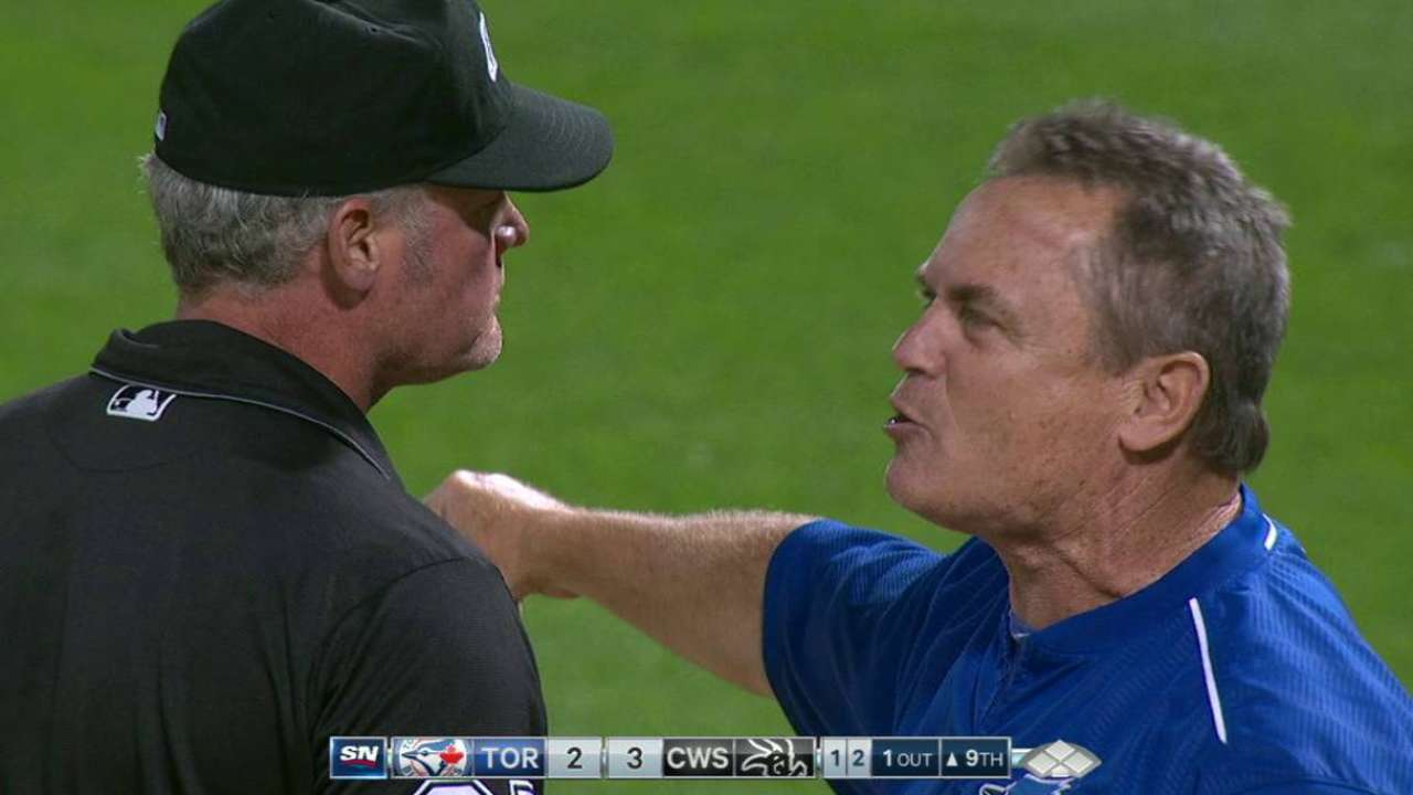 Gibbons gets ejected