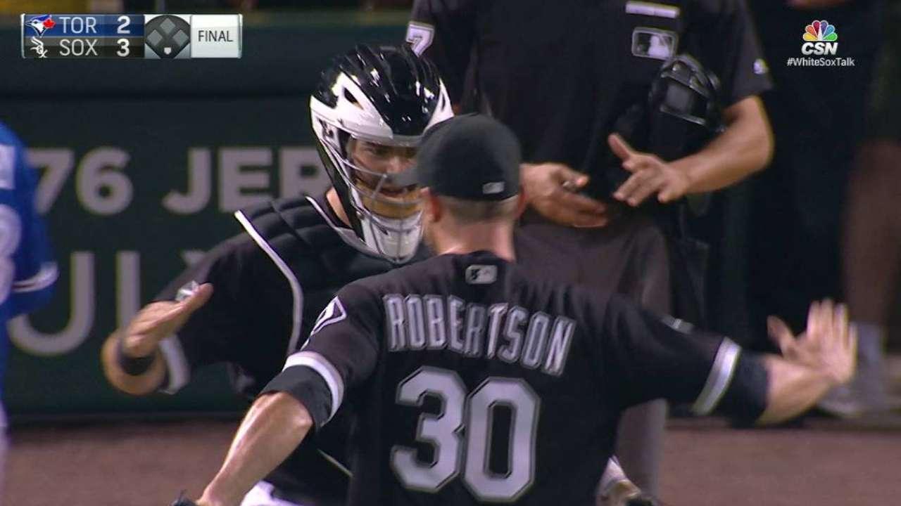 Robertson locks down 19th save