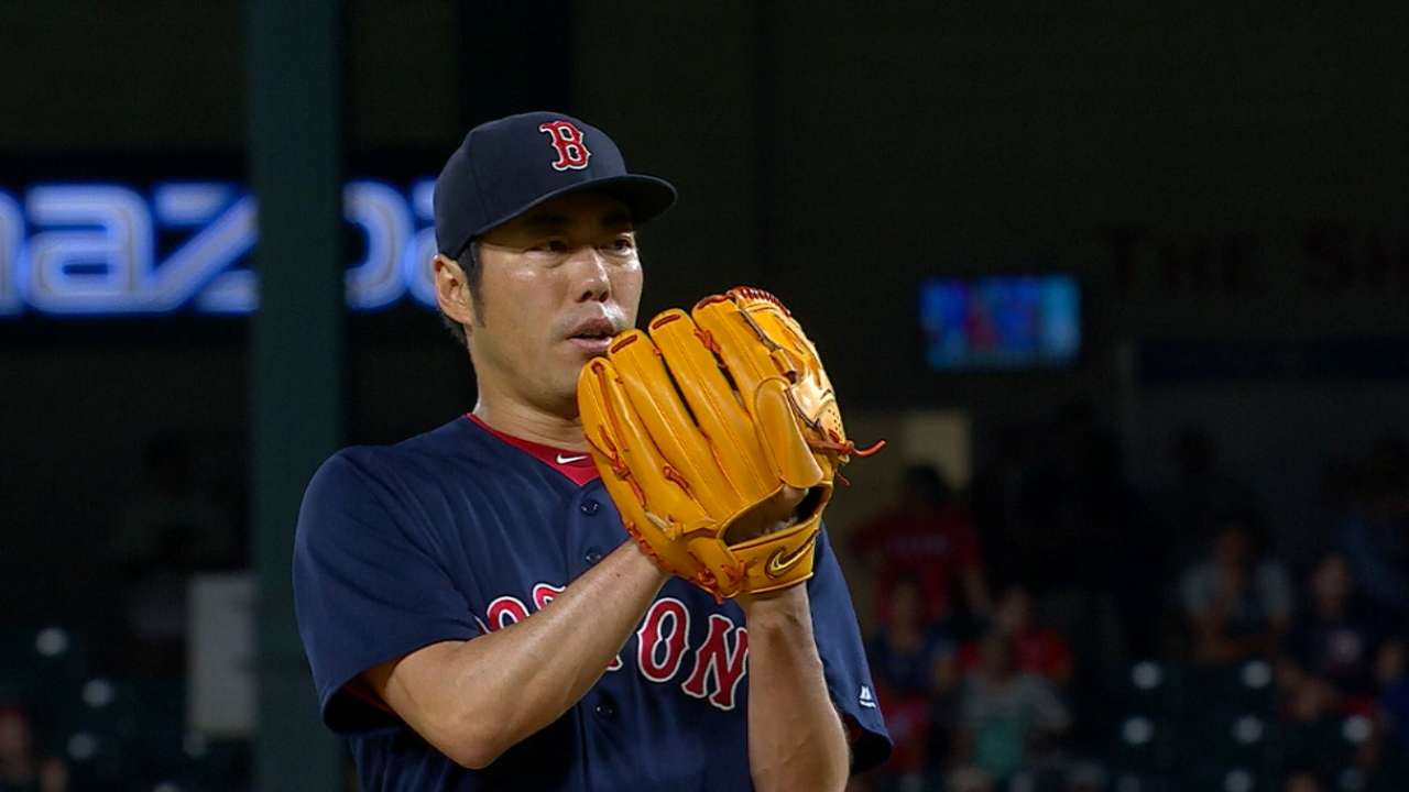 Uehara strikes out side for save