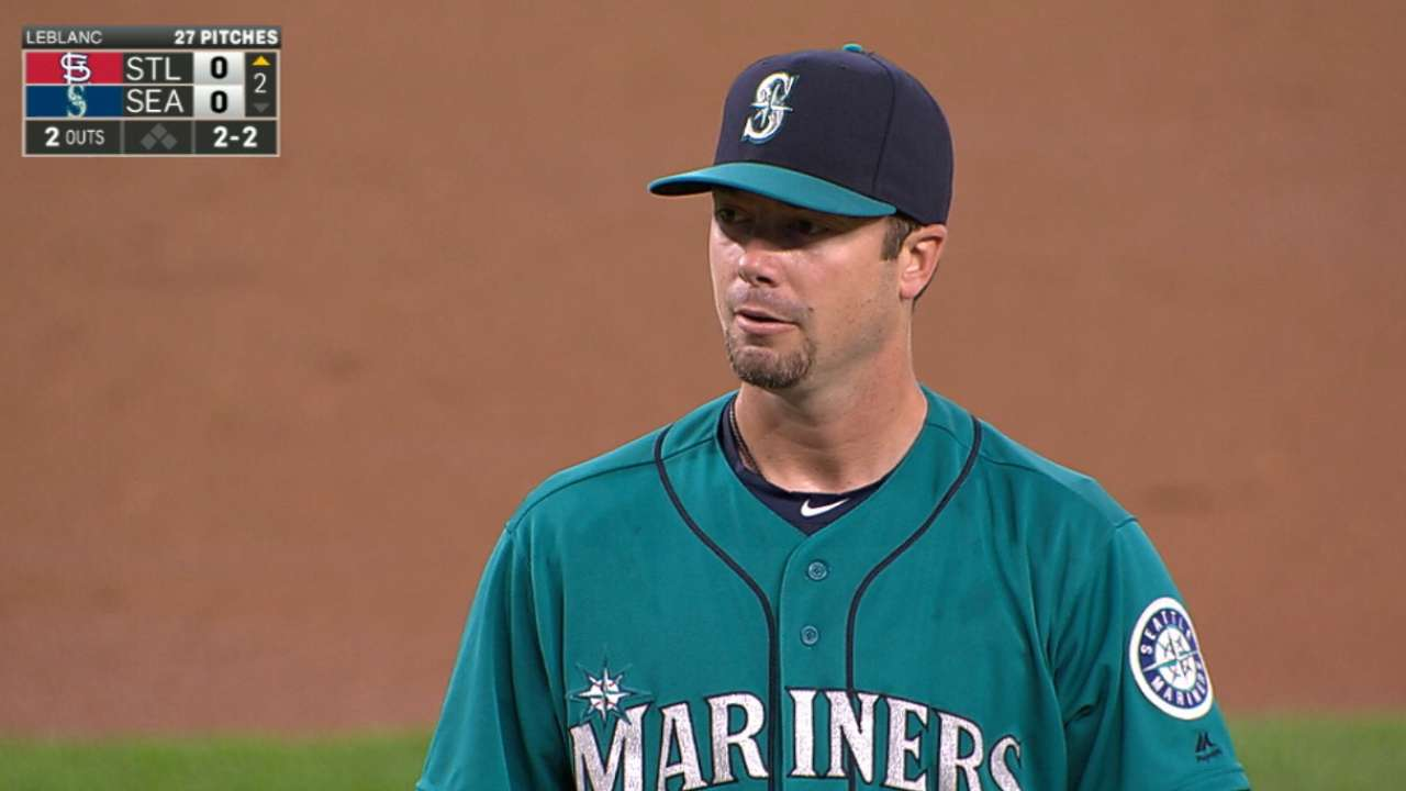 Wade who? LeBlanc conjures up Moyer comp