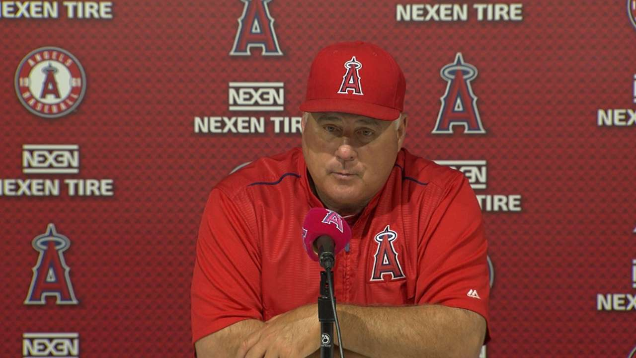 Skipper says Halos are pressing too hard