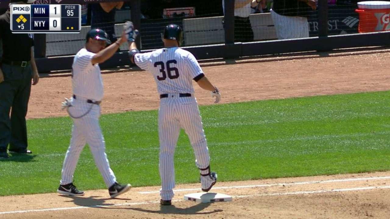 Beltrán, Castro y Pineda guiaron a Yankees al triunfo sobre Mellizos