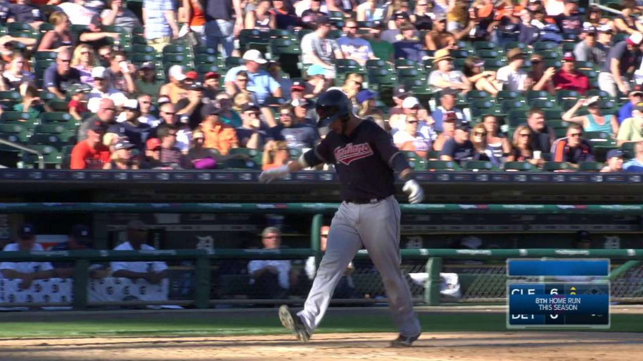 Gomes launches solo homer
