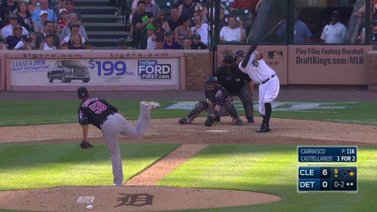Carrasco goes the distance