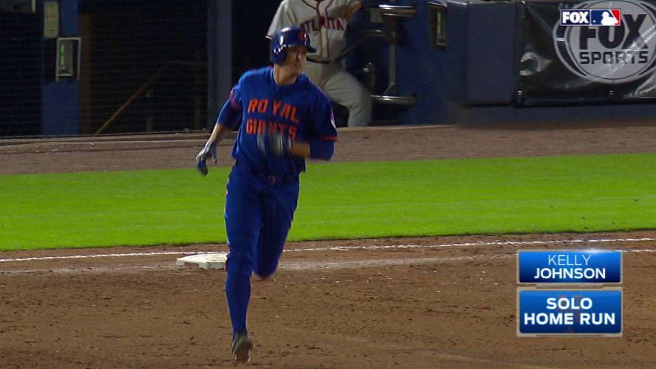 Hero in a pinch! Johnson's HR lifts Mets in 11th