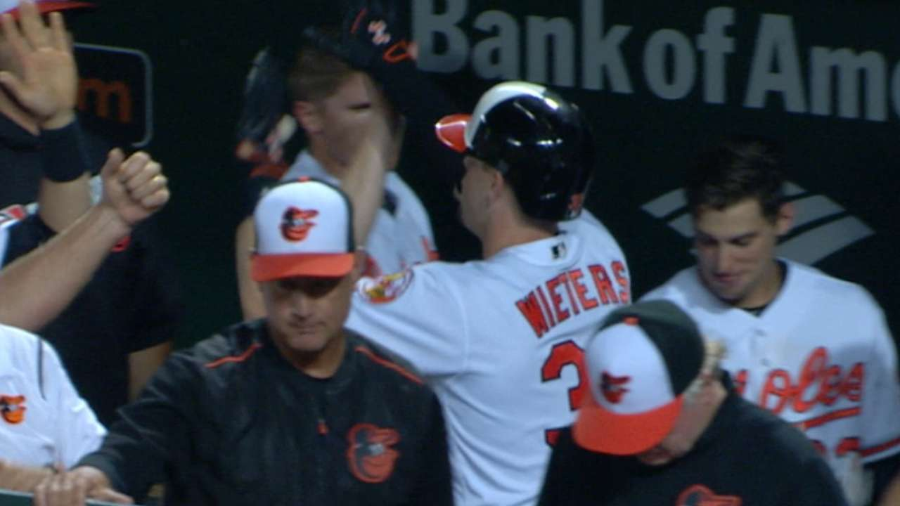 Wieters two-homer game