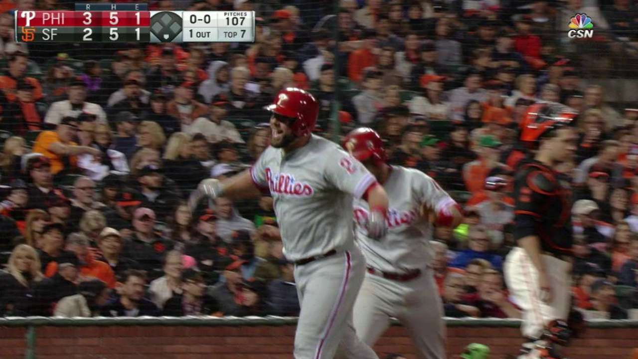 Rupp's go-ahead two-run home run