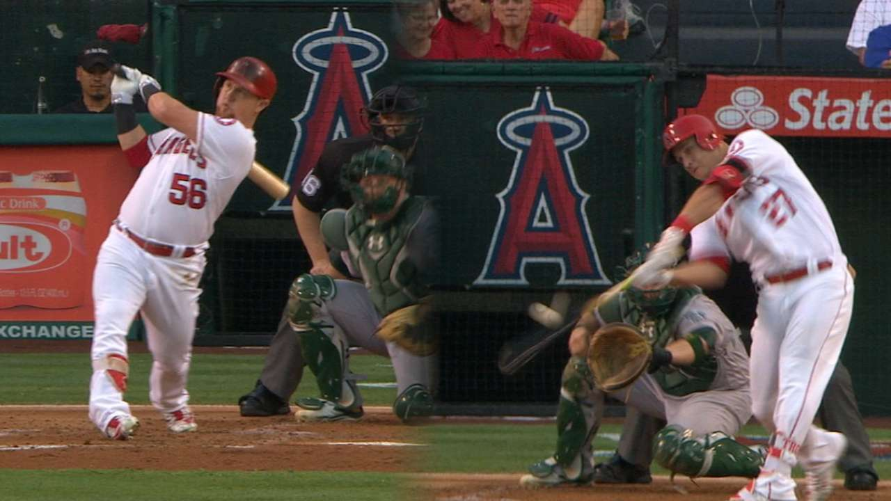 Angels go back-to-back in 1st