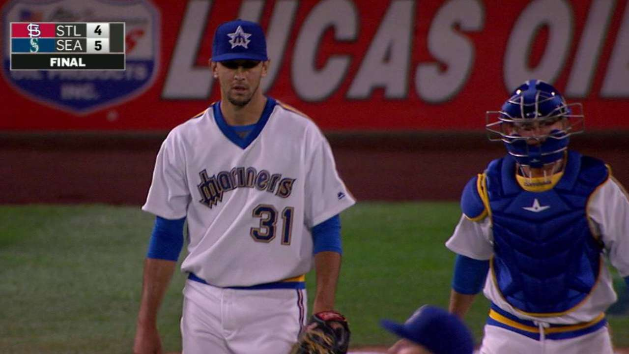 Bullpen saves Mariners against Cardinals
