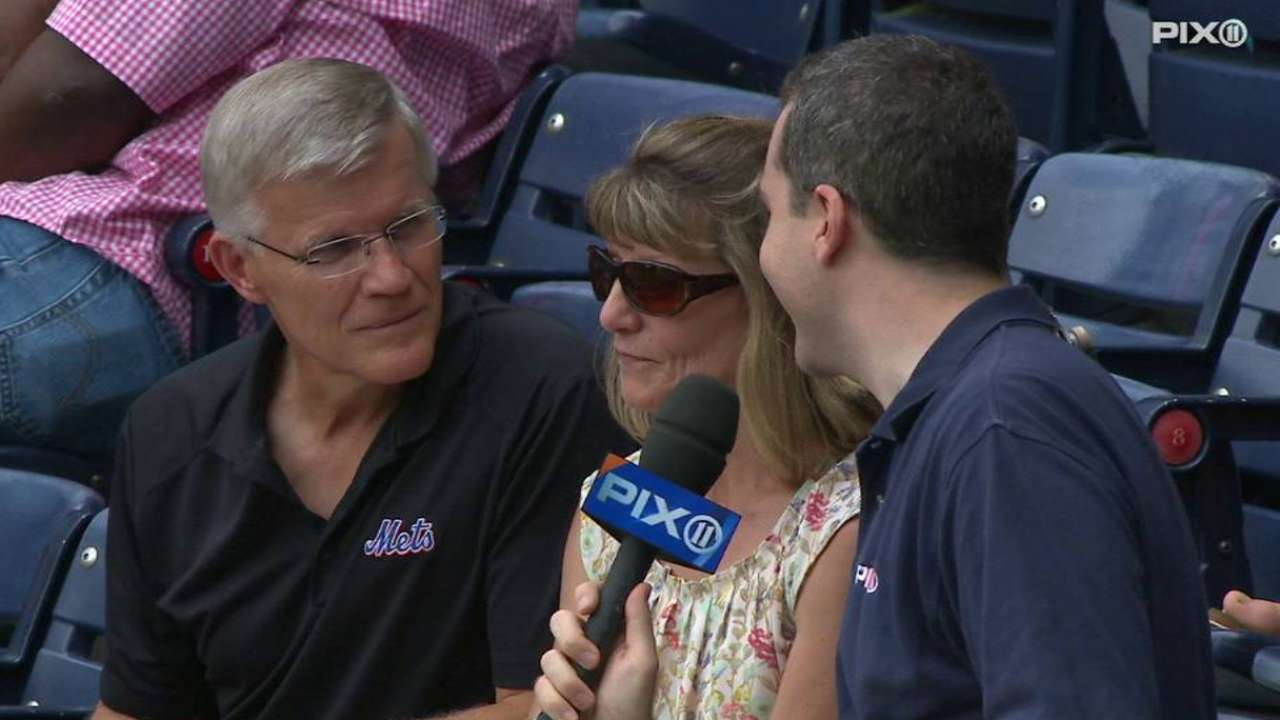 Nimmo's parents on son's debut
