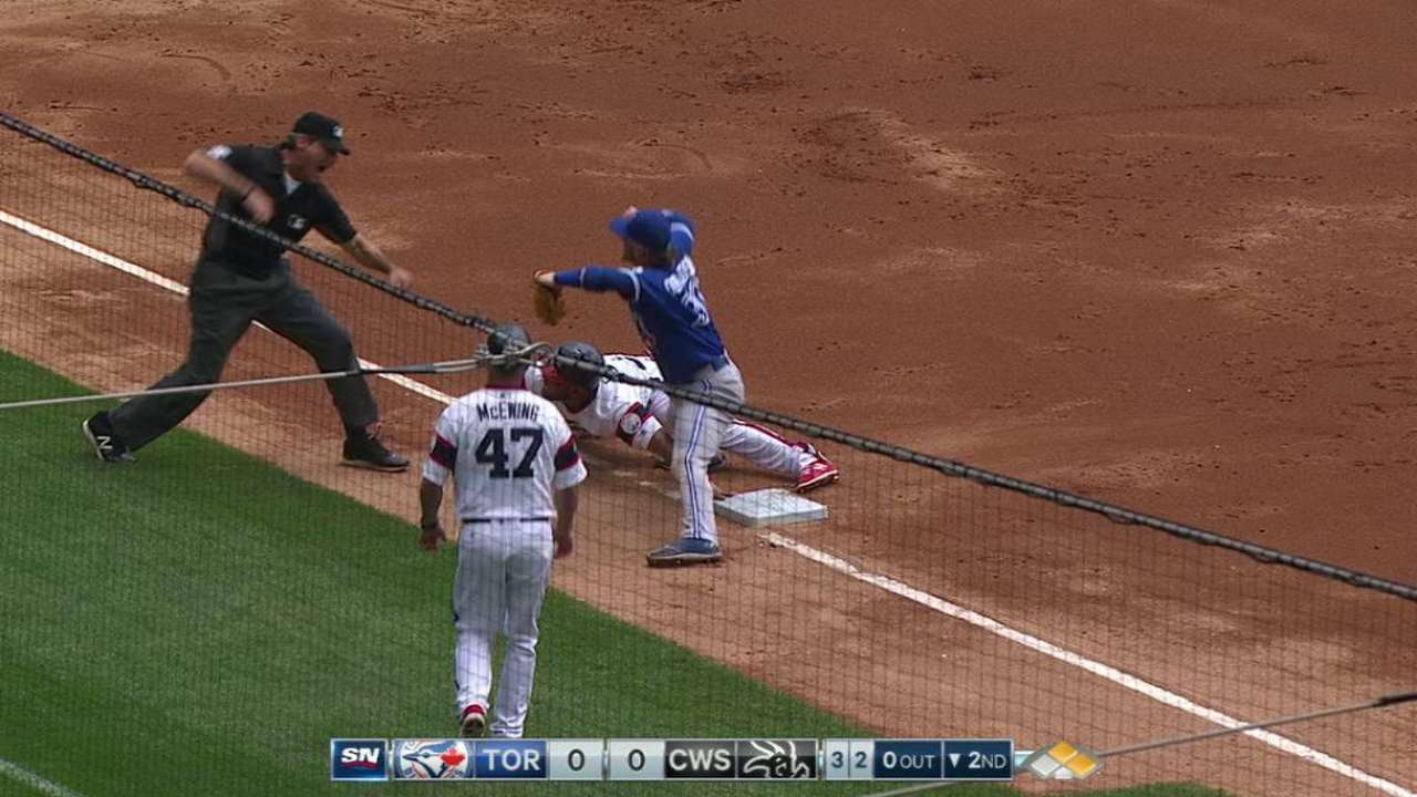 Donaldson tags out Cabrera