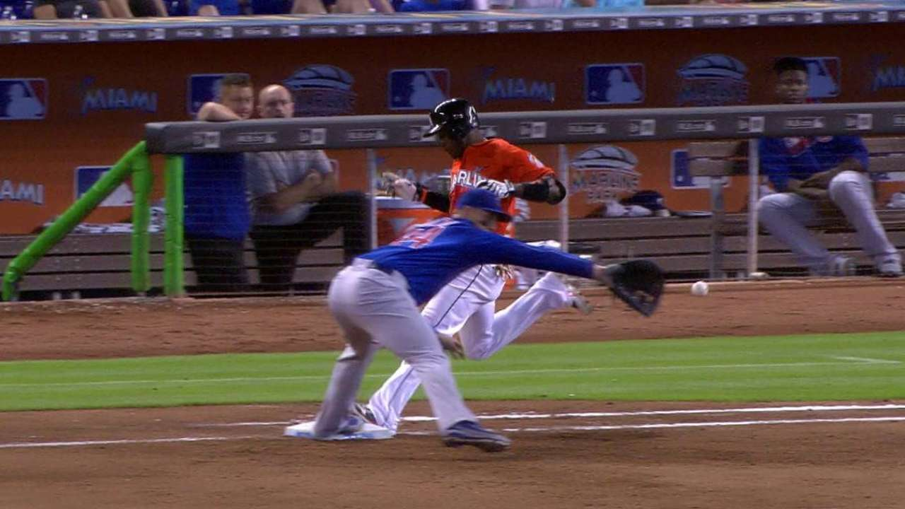 Stanton scores on forceout