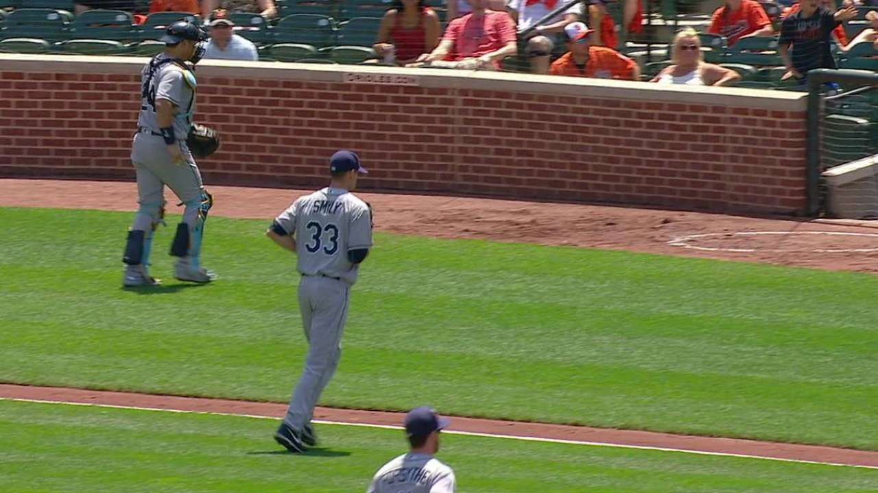 Smyly strikes out Machado