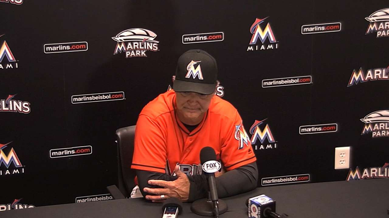 Mattingly on Marlins' victory