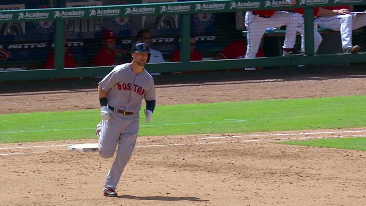 Brentz's first career homer