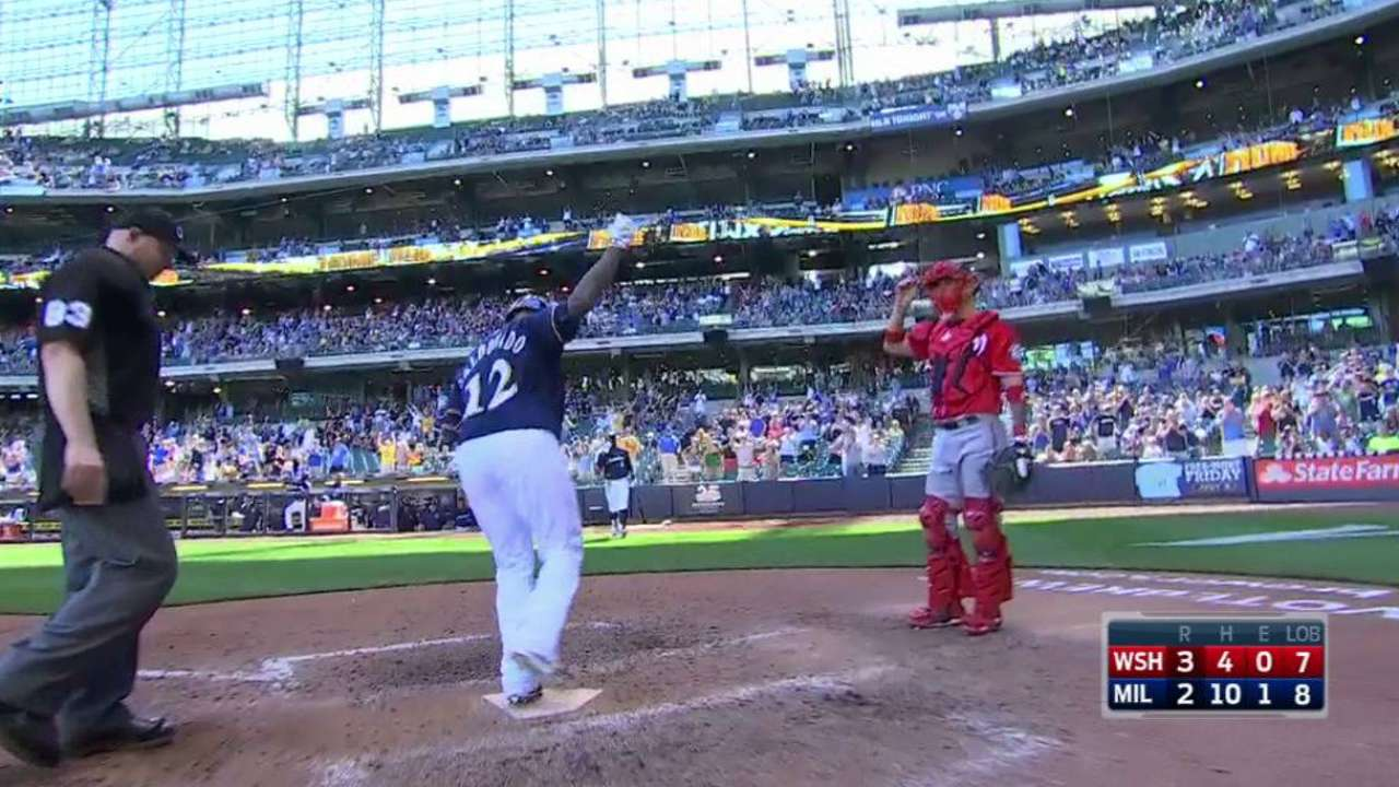 Brewers unable to back Nelson in finale
